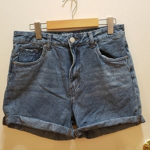 SWS denim mom short jeans